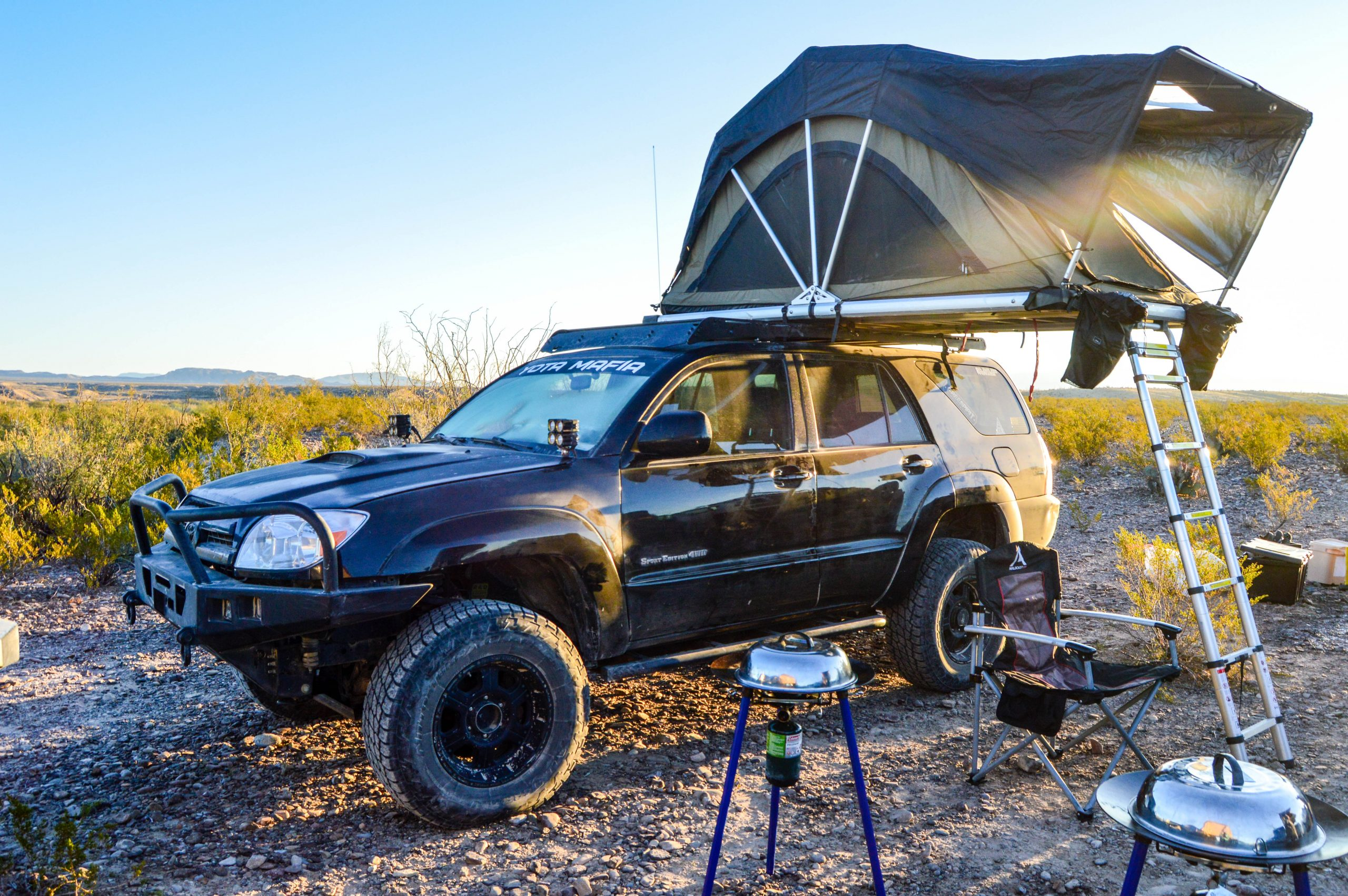 Prinsu 4th Gen 4runner Roof Rack 2003 2009 Yotamafia