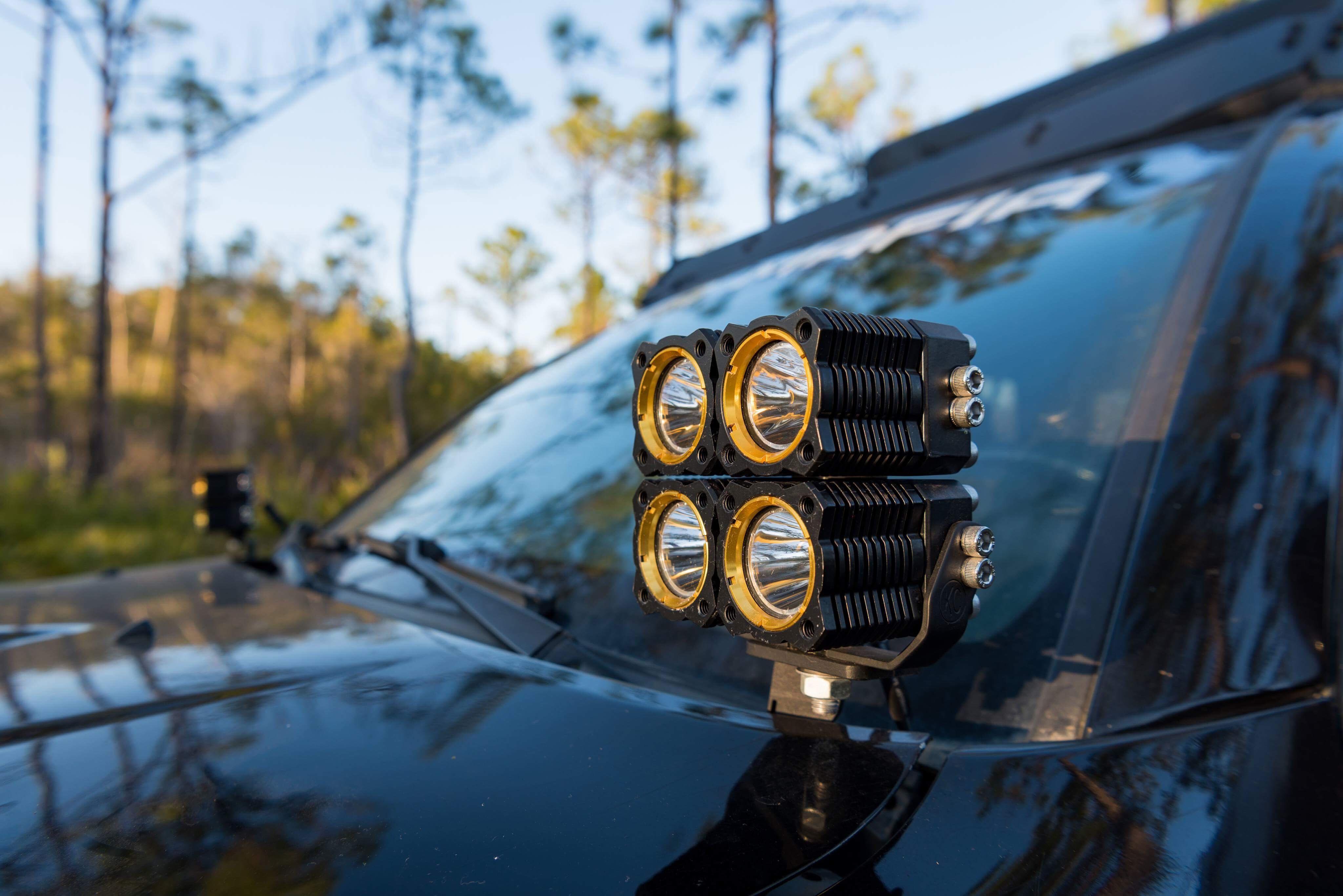 Kc Flex System 10 18 Toyota 4runner Pillar Ditch Mount Led Light Wiring Harness Kit