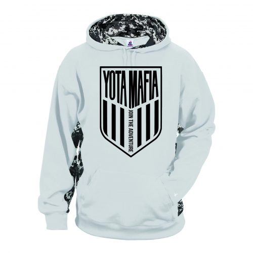 Digital Camo Performance Fleece Hooded Sweatshirt