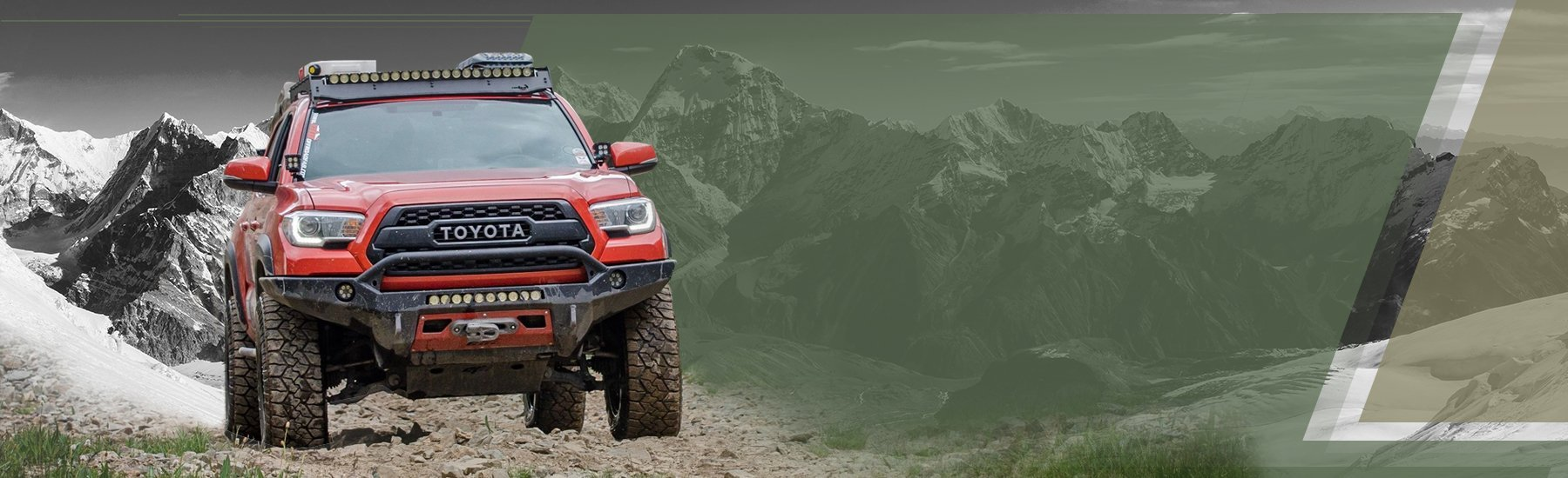 Toyota Gear For Off-Road Enthusiasts