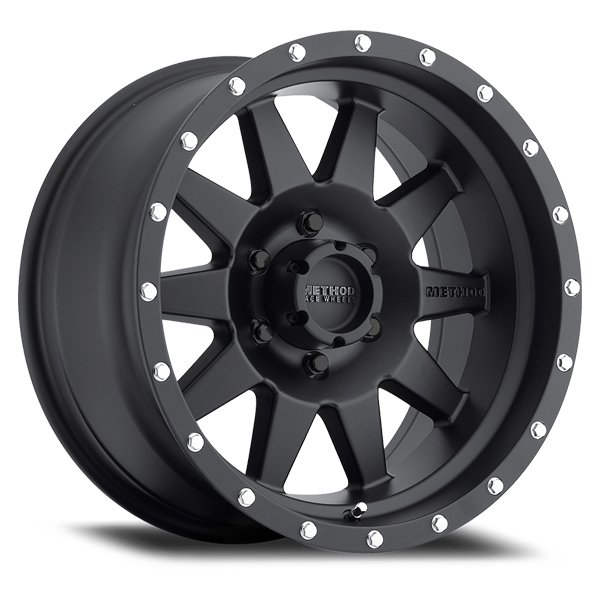 Method Race Wheels 301 The Standard (Matte Black)