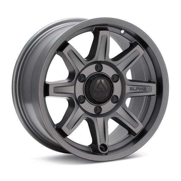 ALPHAequipt Command Wheels in Light Grey (18x9 5x150 +25)