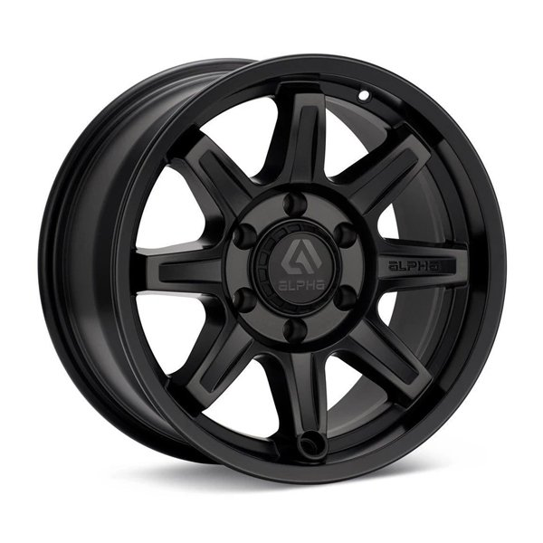 ALPHAequipt Command Wheels in Matte Black (18x9 5x150 +25)