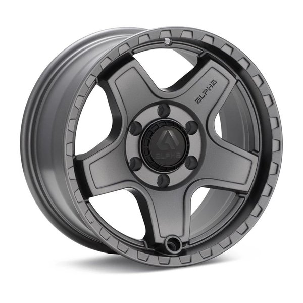 ALPHAequipt Echo Wheels in Light Grey (18x9 5x150 +25) (Copy)