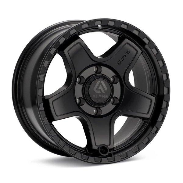 ALPHAequipt Echo Wheels in Matte Black (18x9 5x150 +25)