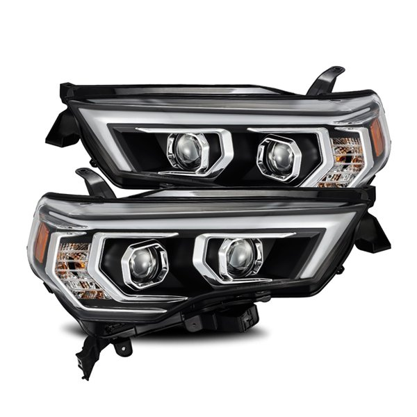 LUXX-Series LED Projector Headlights Black For 5th Gen 4Runner (2014+)