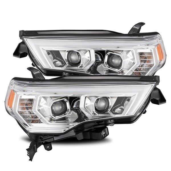 LUXX-Series LED Projector Headlights Chrome For 5th Gen 4Runner (2014+)