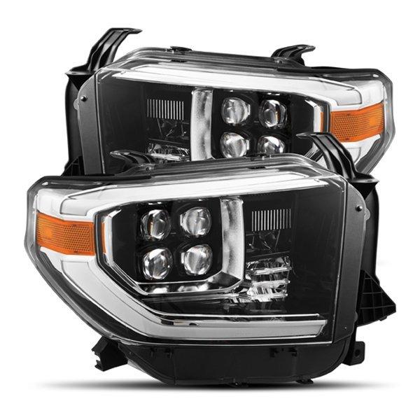 AlphaRex NOVA-Series LED Projector Headlights Jet Black For 2nd Gen Tundra (2014+)