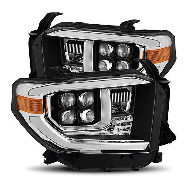 AlphaRex NOVA-Series LED Projector Headlights Matte Black For 2nd Gen Tundra (2014+)