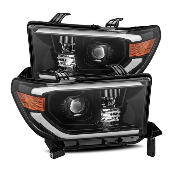 AlphaRex PRO-Series LED Projector Headlights Alpha-Black For 2nd Gen Tundra (2007-2013)