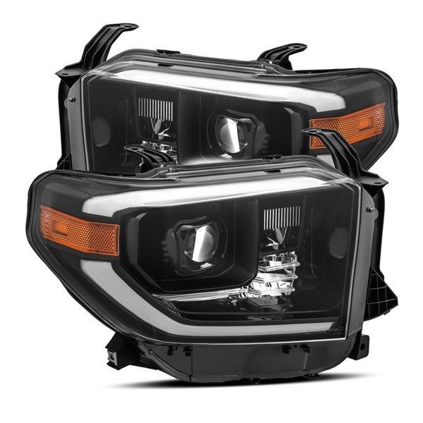 AlphaRex PRO-Series LED Projector Headlights Alpha-Black For 2nd Gen Tundra (2014+)