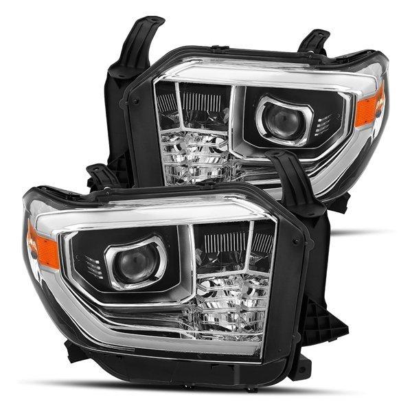 AlphaRex PRO-Series LED Projector Headlights ChromeFor 2nd Gen Tundra (2014+)