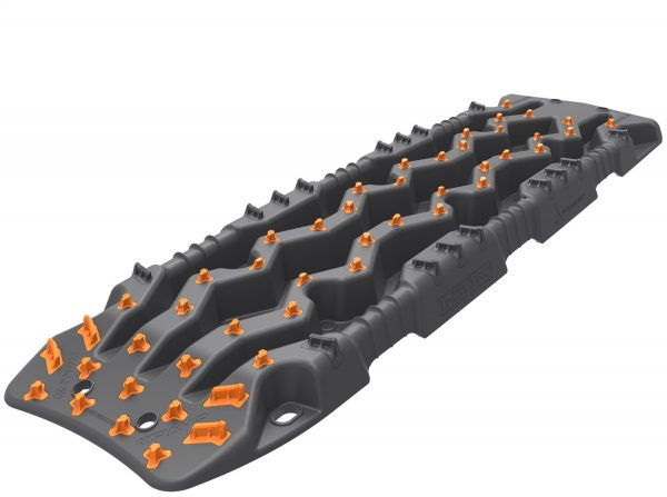 ARB TRED Pro™ Recovery Boards EXOTRED™ Composite Construction SIPE-LOCK™ Grip Profile Monument Grey Body w/Recovery Orange Teeth Incl. Recovery Leashes w/ Neoprene Cuffs