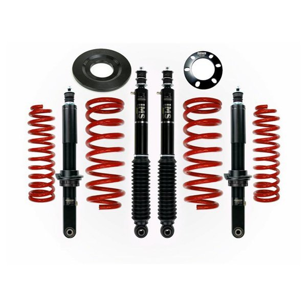 "Dobinsons 1""–3.5"" IMS Lift Kit 5th Gen 4Runner (2010+) (KDSS) - Red"