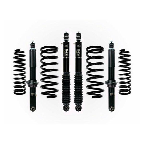 """Dobinsons 1""""–3.5"""" IMS Lift Kit For 4th Gen 4Runner (2003-2009) - Black"""