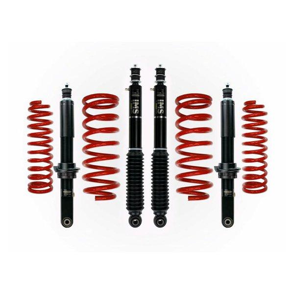"""Dobinsons 1""""–3.5"""" IMS Lift Kit For 4th Gen 4Runner (2003-2009) - Red"""