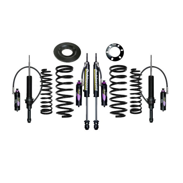 "Dobinsons 1""–3.5"" MRR Lift Kit 5th Gen 4Runner (2010+) (KDSS) - Black"