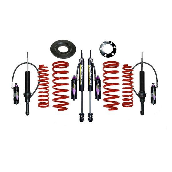 """Dobinsons 1""""–3.5"""" MRR Lift Kit 5th Gen 4Runner (2010+) (KDSS) - Red"""