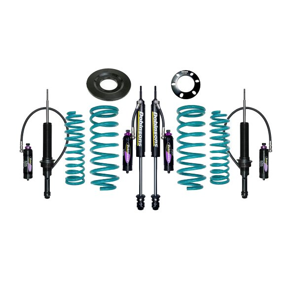 "Dobinsons 1""–3.5"" MRR Lift Kit 5th Gen 4Runner (2010+) (KDSS) - Teal"