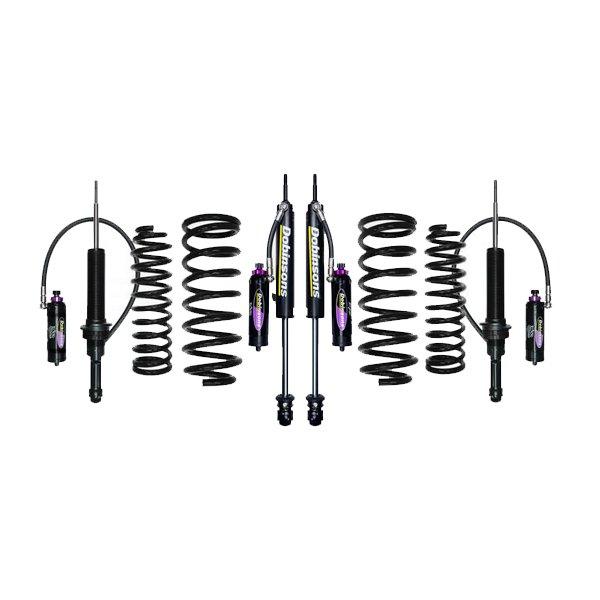 """Dobinsons 1""""–3.5"""" MRR Lift Kit 5th Gen 4Runner (2010+) (Non-KDSS) - Black"""