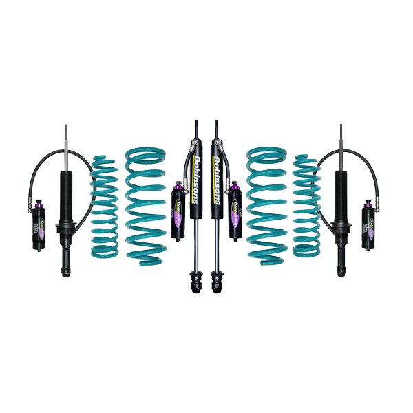 "Dobinsons 1""–3.5"" MRR Lift Kit 5th Gen 4Runner (2010+) (Non-KDSS) - Teal"