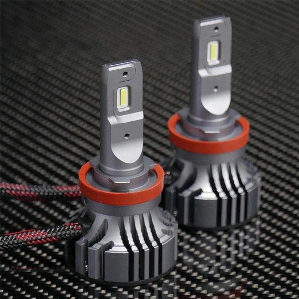 S-V.4 LED H11/H16 High Beams /Low Beams Bulbs (Set of 2)