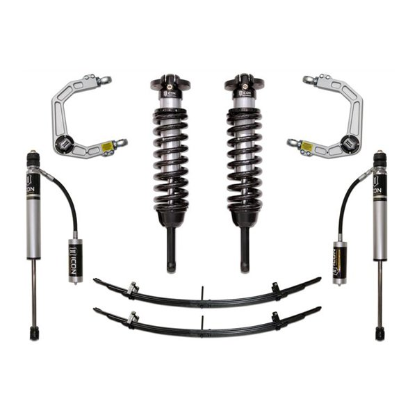 """Icon 0-3.5"""" 16-UP 0-2.75"""" Stage 2 Lift Kit For 2nd & 3rd Gen Tacoma"""