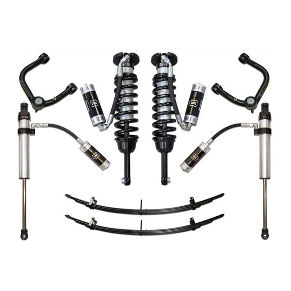 "Icon 0-3.5"" Stage 5 Lift Kit with Tubular UCAs For 2nd & 3rd Gen Tacoma"
