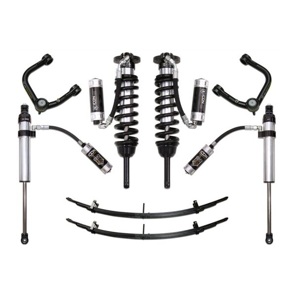 "Icon 0-3.5"" Stage 6 Lift Kit with Tubular UCAs For 2nd & 3rd Gen Tacoma"