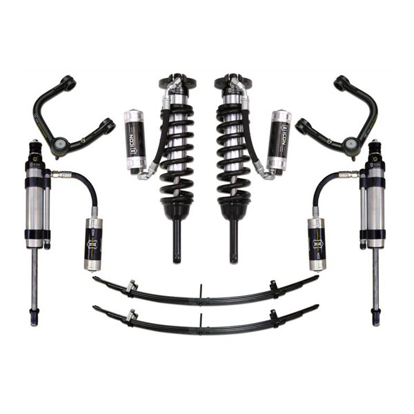 "Icon 0-3.5"" Stage 7 Lift Kit with Tubular UCAs For 2nd & 3rd Gen Tacoma"